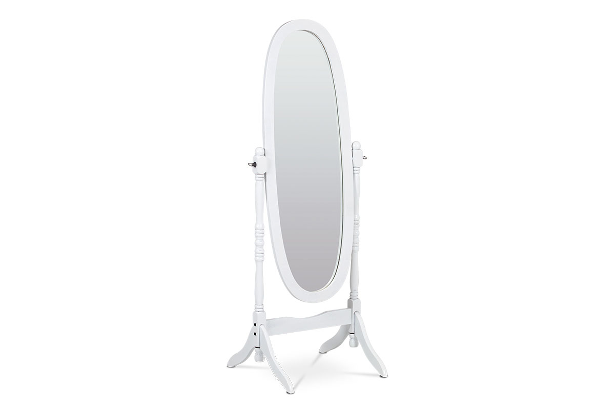 Autronic - Zrcadlo, MDF, bílý matný lak - 20124 WT