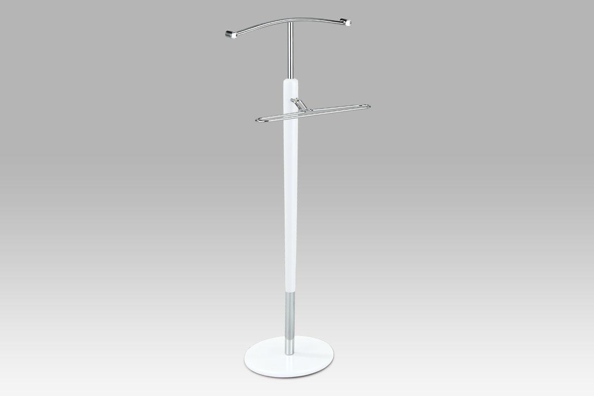 Autronic - Němý sluha chrom + bílá - 83656 WT