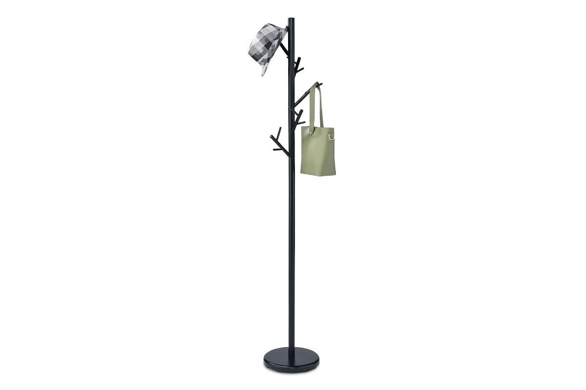 Autronic - Věšák, kov, barva černá - ABD-1272 BK