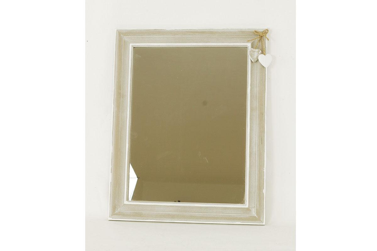 Autronic - Zrcadlo v dřevěném rámu - ARD744830