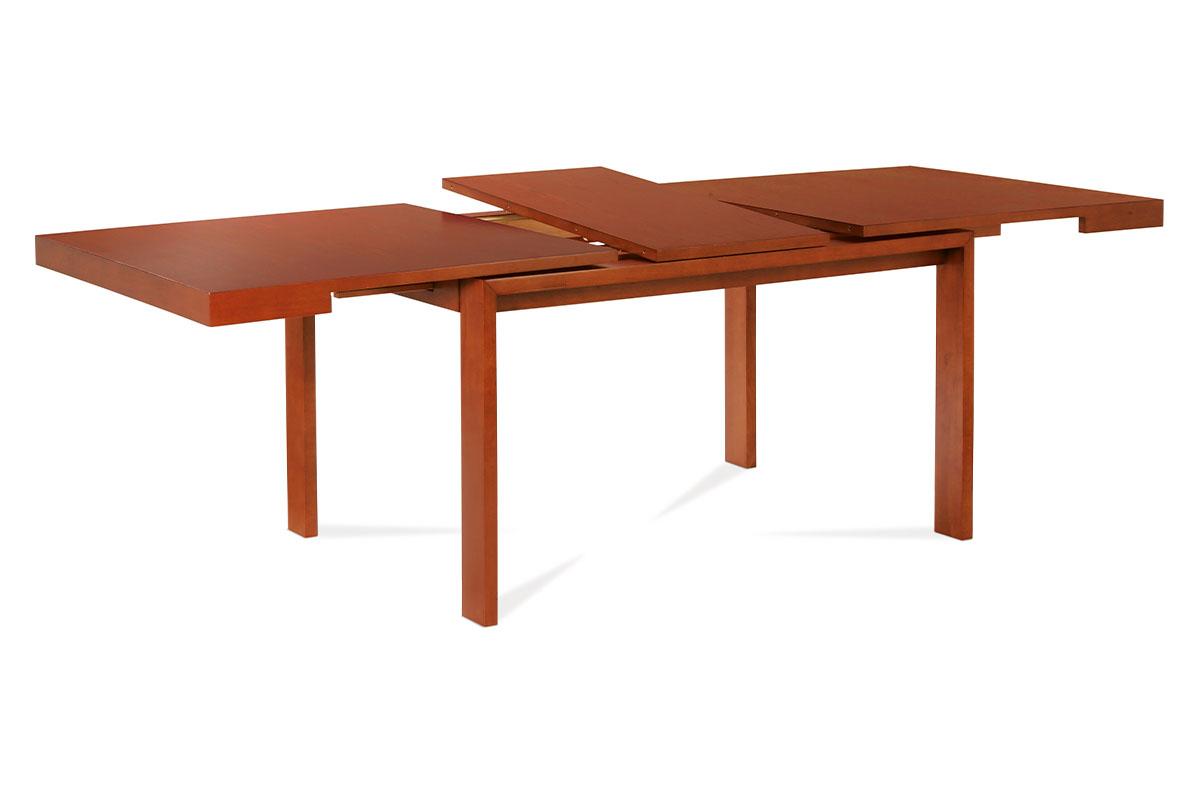 Autronic - Jídelní stůl 180+45x95 cm, barva třešeň - ART-2280 TR2