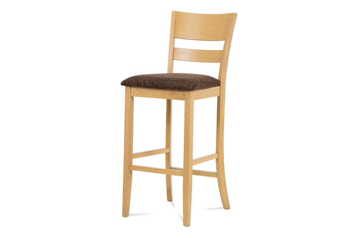Autronic - Barová židle BEZ SEDÁKU, bělený dub - AUB-5527 OAK1