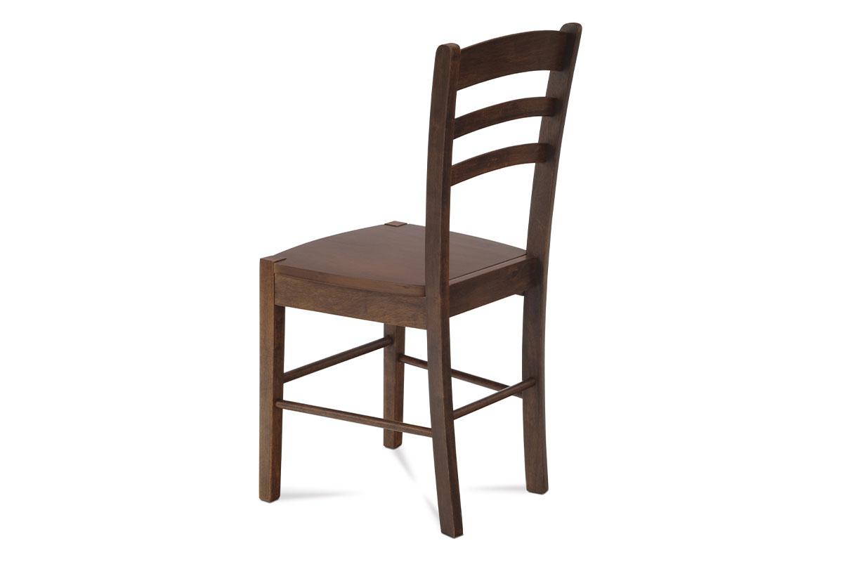 Jídelní židle celodřevěná, ořech - AUC-004 WAL