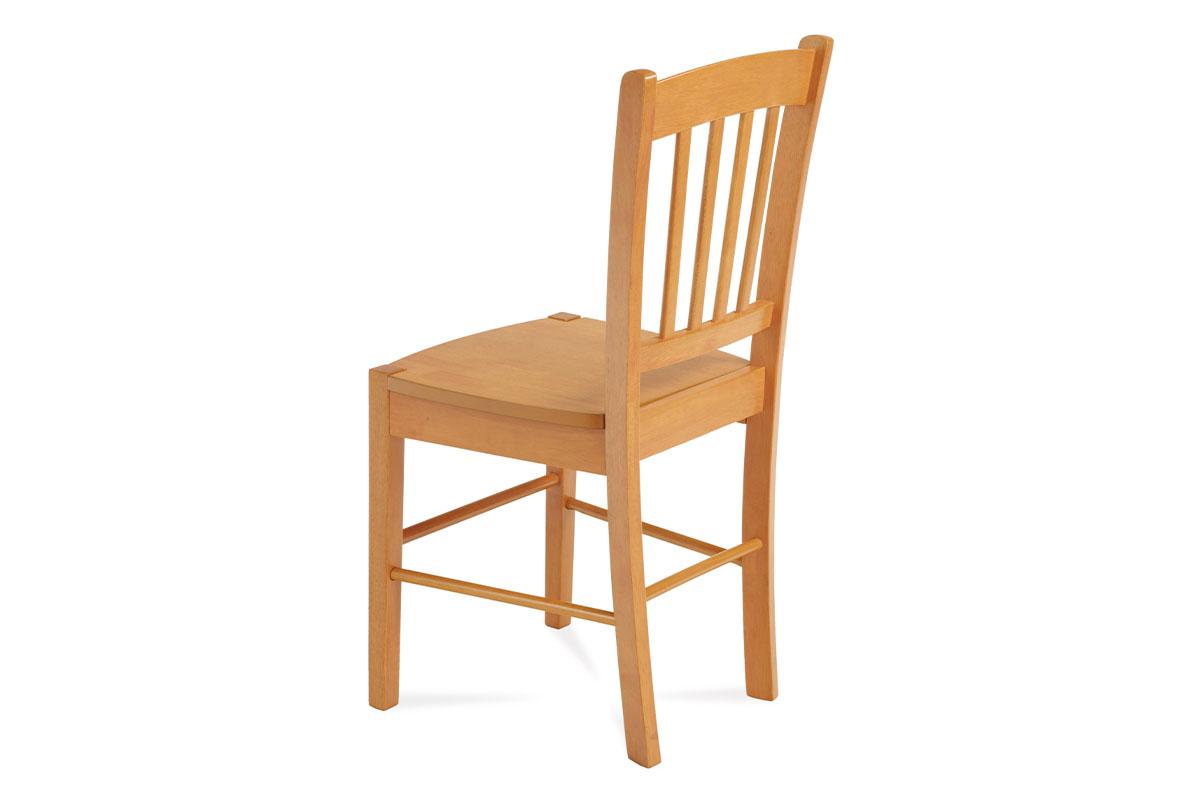 Jídelní židle celodřevěná, olše - AUC-005 OL