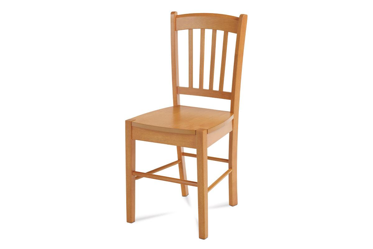 Autronic - Jídelní židle celodřevěná, olše - AUC-005 OL