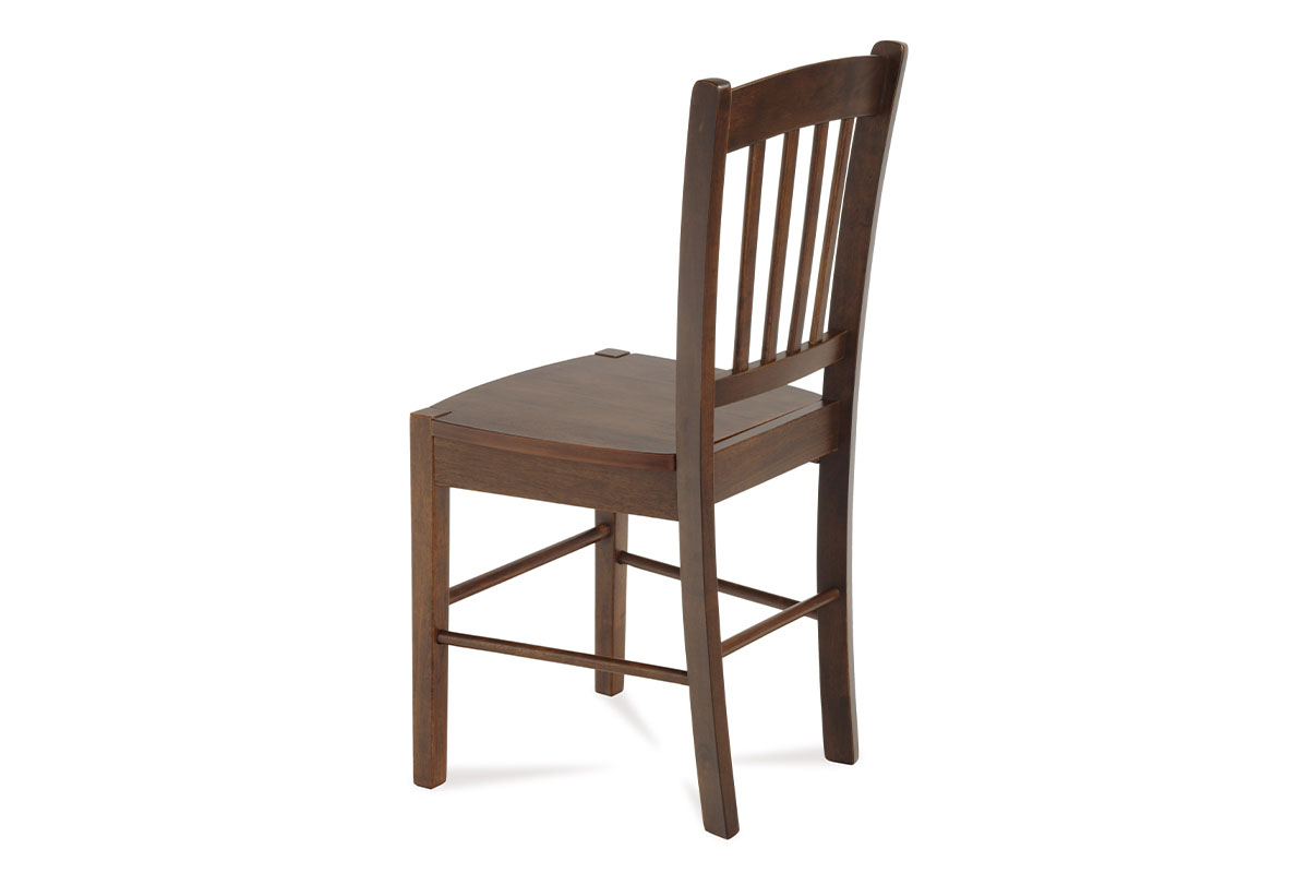 Jídelní židle celodřevěná, ořech - AUC-005 WAL