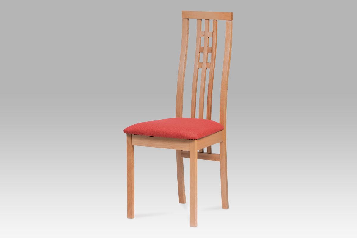 Autronic - Jídelní židle BEZ SEDÁKU masiv buk, barva buk - BC-12481 BUK3