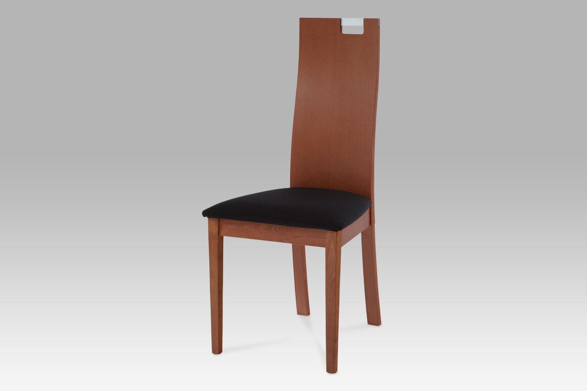 Autronic - Jídelní židle BEZ SEDÁKU, barva třešeň - BC-22462 TR3