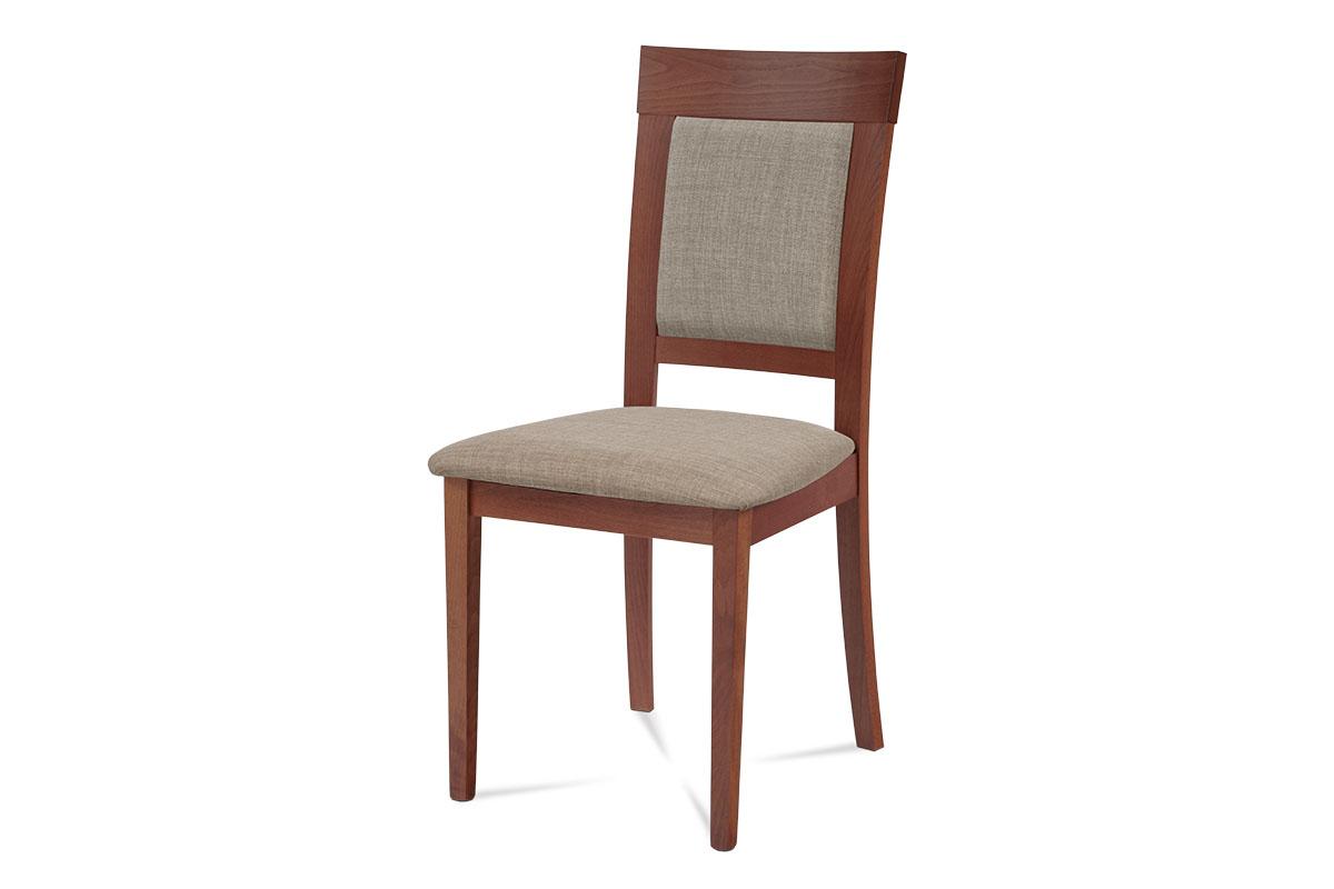 Autronic - Jídelní židle, třešeň, potah krémový - BC-3960 TR3