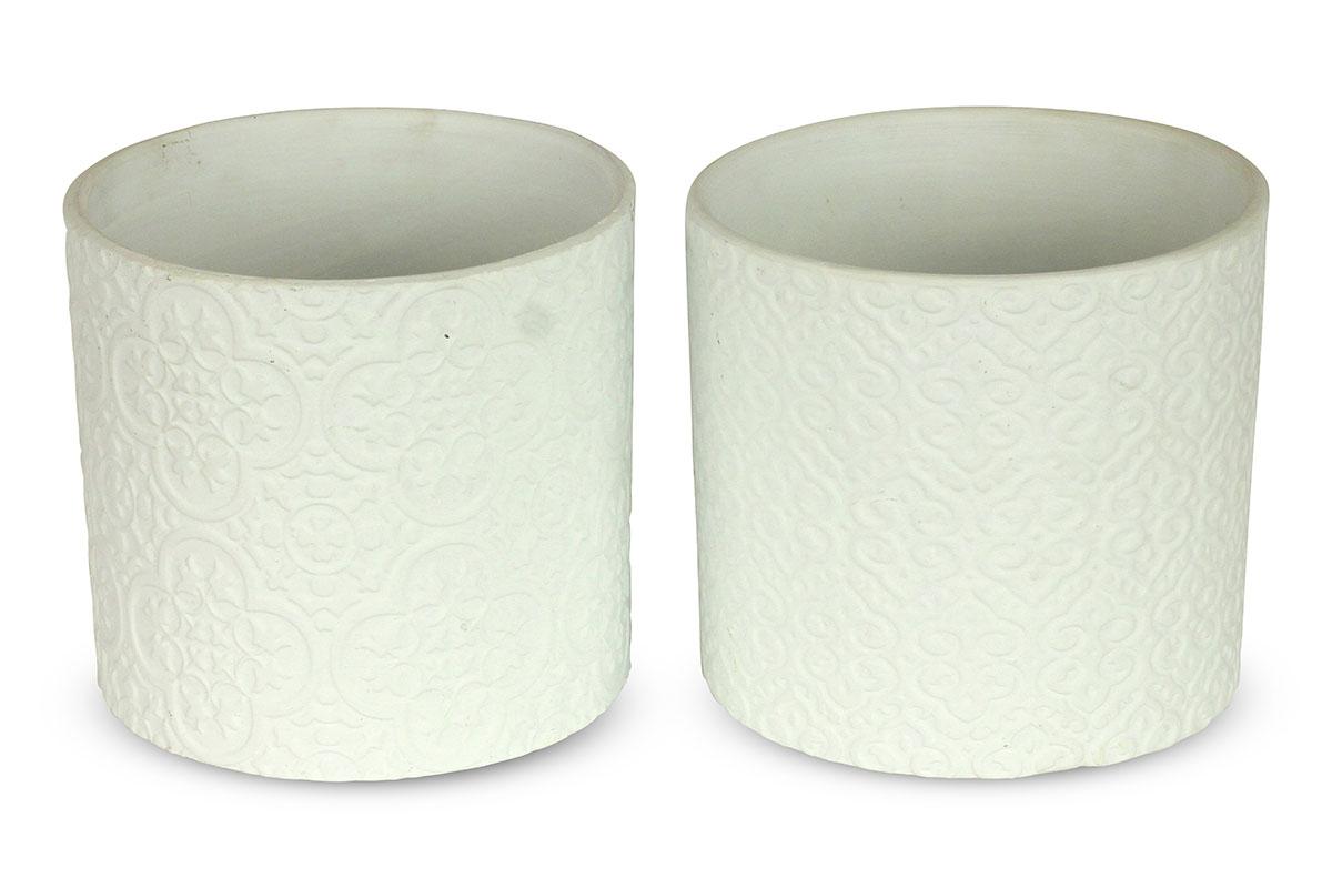 Autronic - Obal na květiny, keramický, mix dvou dekorů, cena za 1 kus - BCO873806