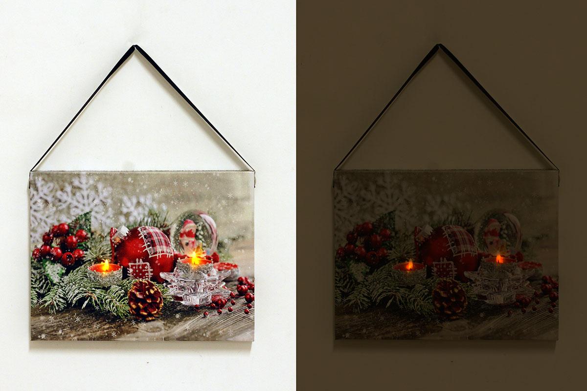 Autronic - Nástěnný obraz, svíticí - LED. - BD523