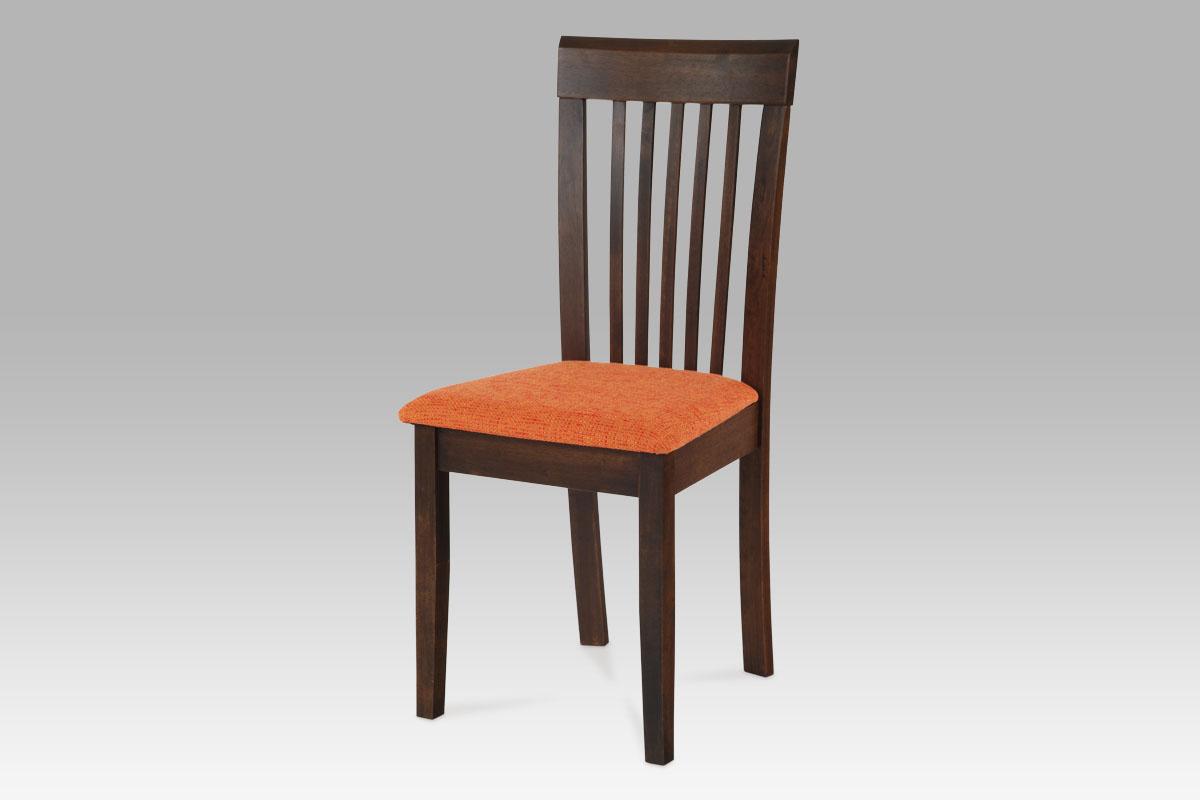 Autronic - Jídelní židle BEZ SEDÁKU, ořech - BE1605 WAL