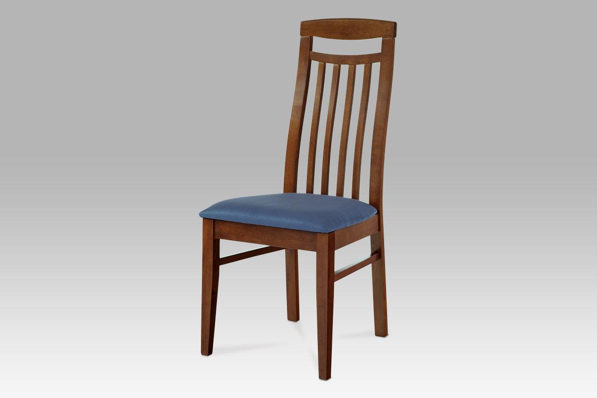 Autronic - Jídelní židle BEZ SEDÁKU, barva hnědá - BE810 BR