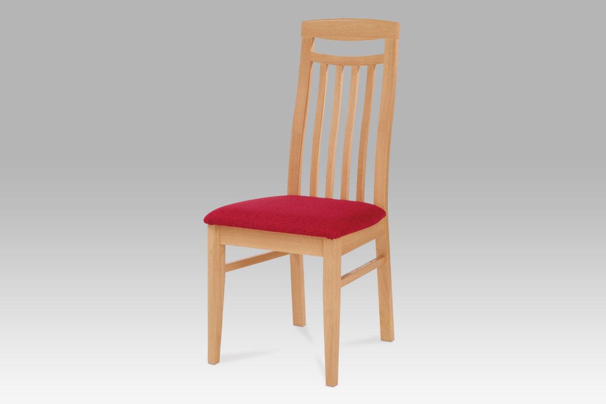 Autronic - Jídelní židle BEZ SEDÁKU, barva buk - BE810 BUK