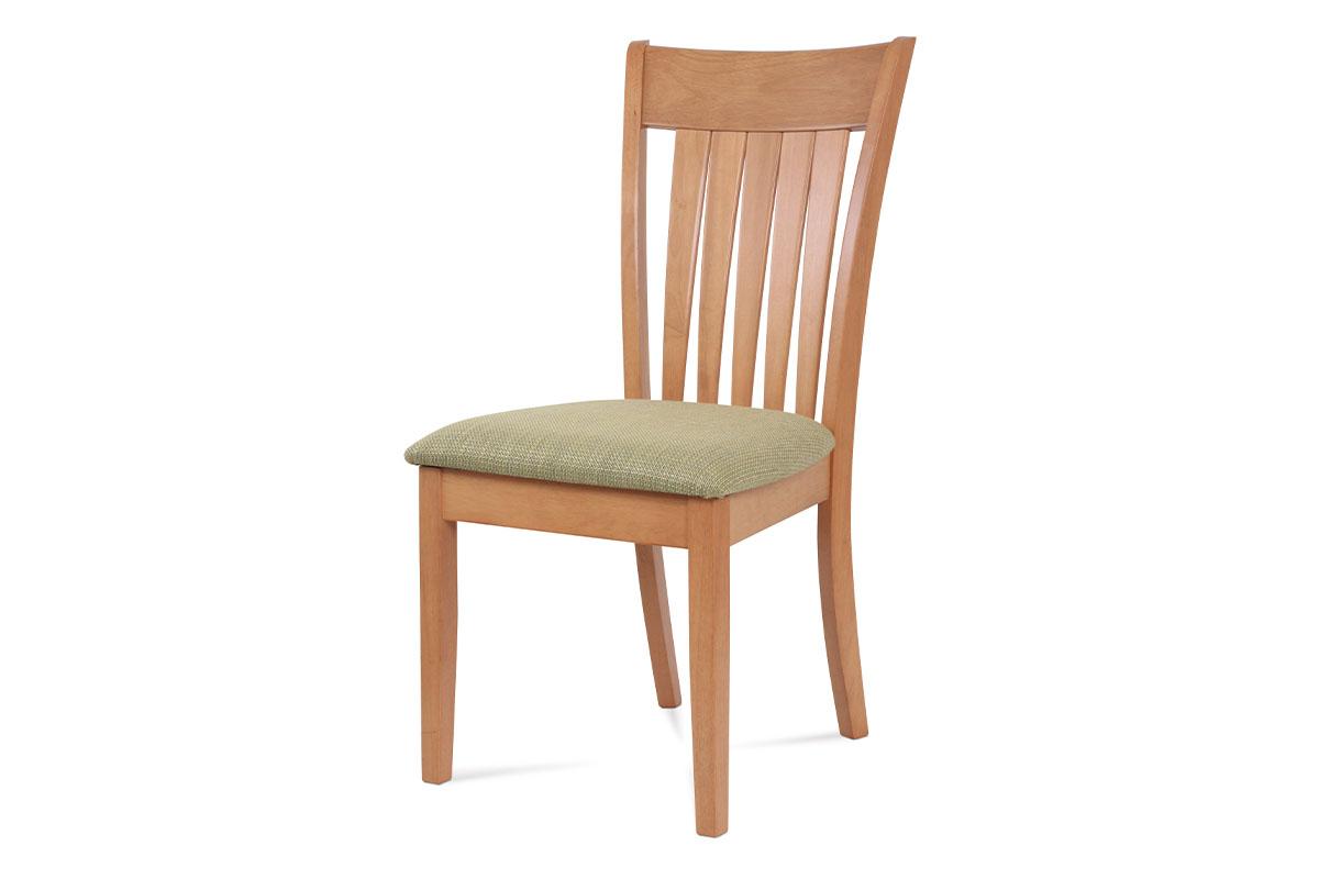 Autronic - Jídelní židle BEZ SEDÁKU, barva buk - BE816 BUK3