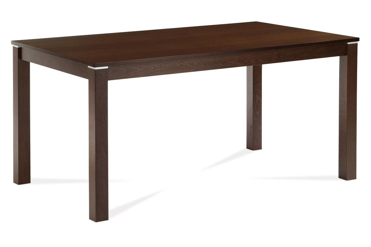 Autronic - Jídelní stůl 150x90 cm, barva ořech - BT-4686 WAL