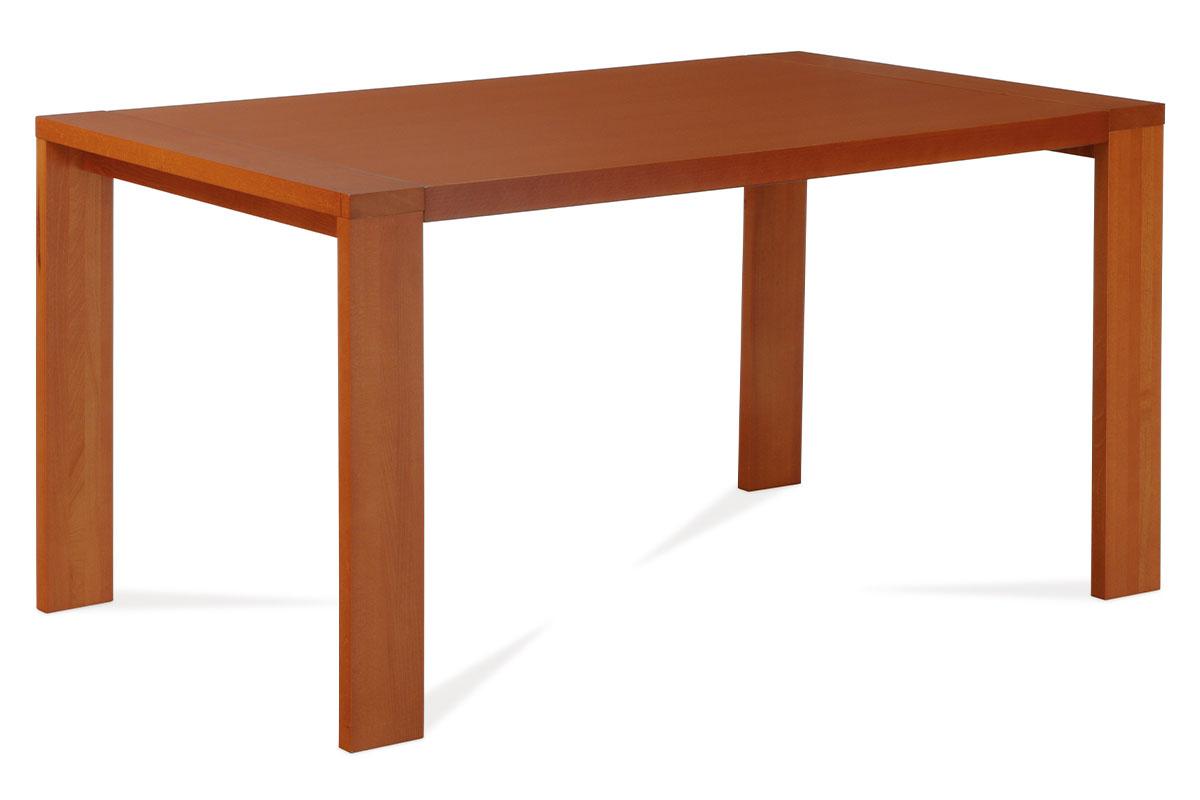Autronic - Jídelní stůl 150x90 cm, barva třešeň - BT-6706 TR2