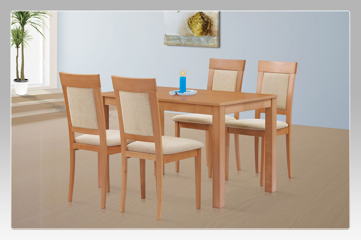 Jídelní stůl 120x75 cm, barva buk - BT-6957 BUK3