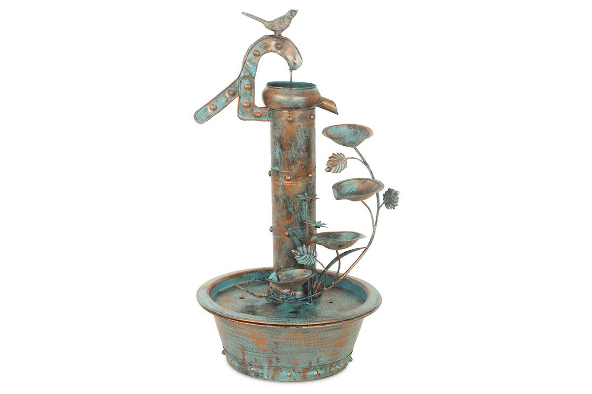 Autronic - Fontána vodní, kovová zahradní dekorace - BU4909
