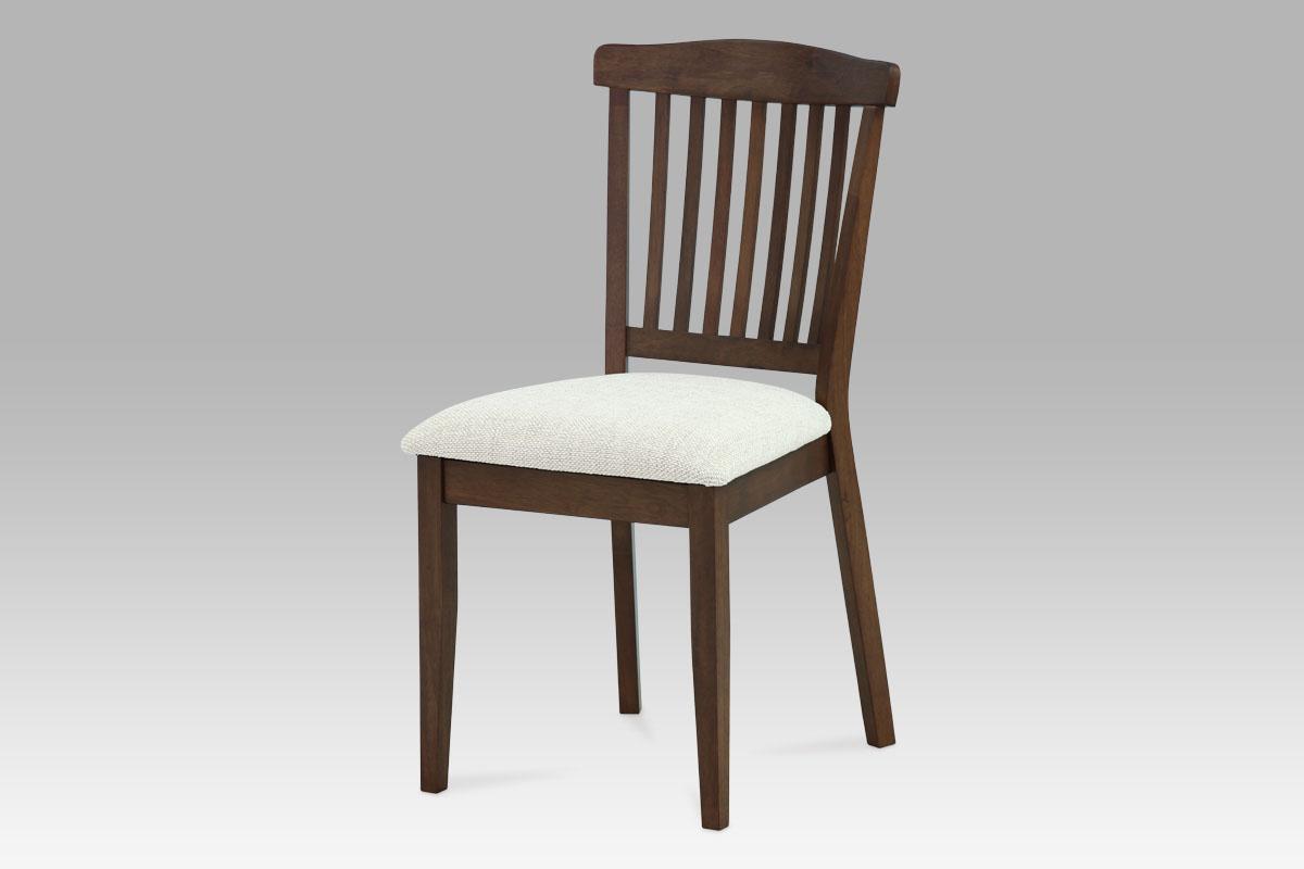 Autronic - Jídelní židle BEZ SEDÁKU, ořech - C-187 WAL