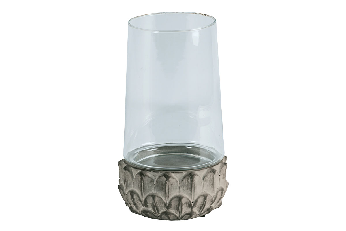 Autronic - Svícen ze skla a betonu - D1720