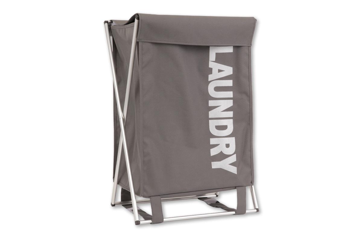 Autronic - Koš na prádlo látkový, barva černá - DD3111