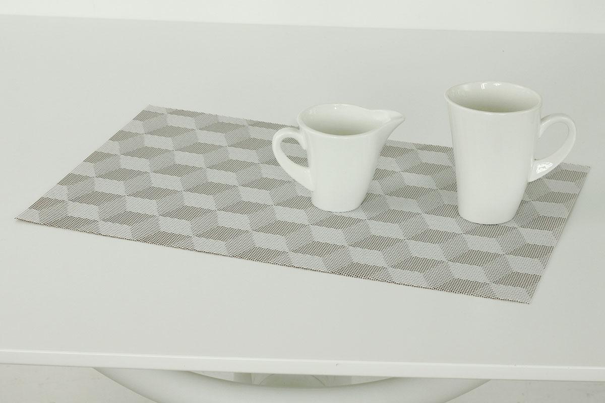 Autronic - Prostírání plastové hnědo-krémové - DK5037