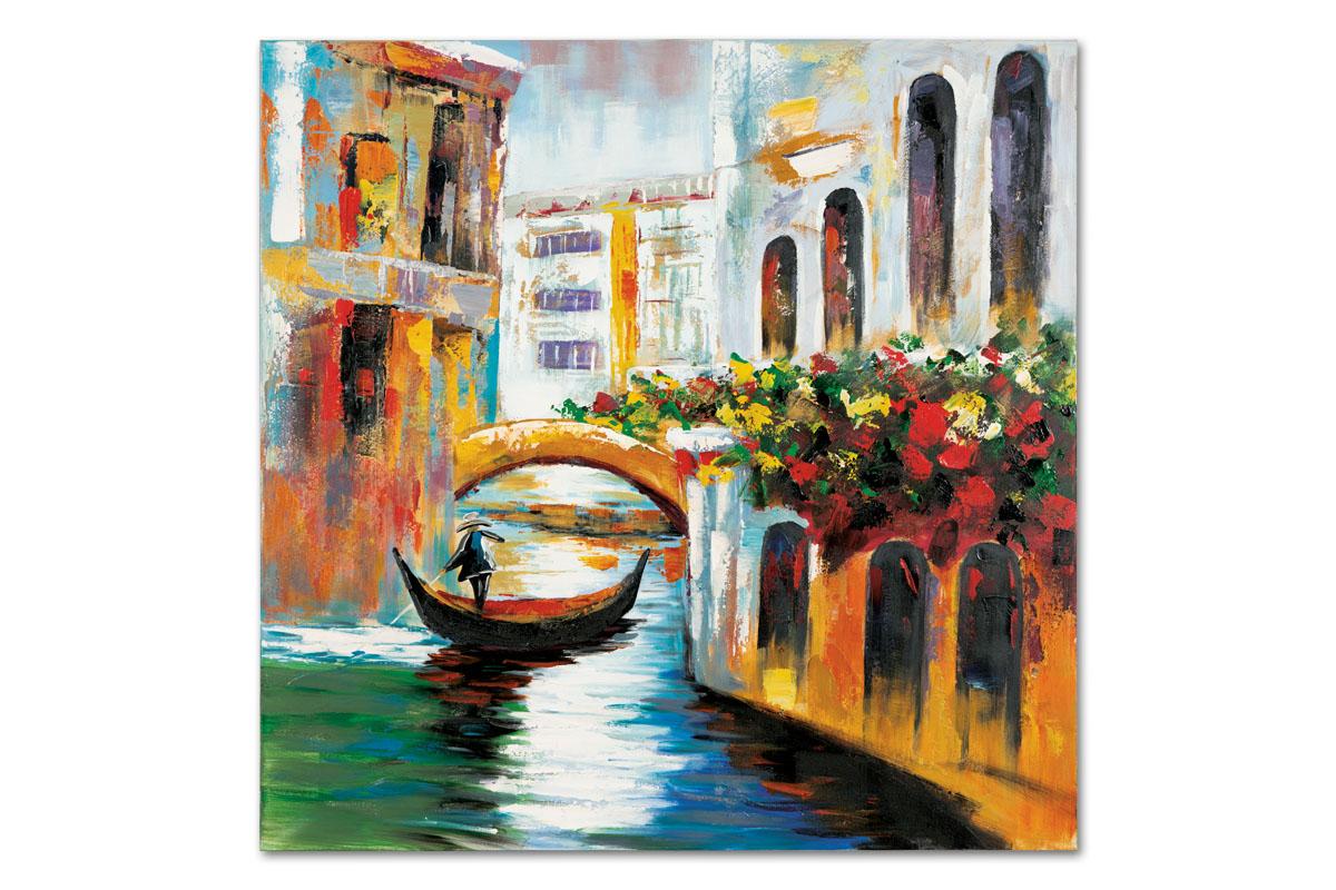 Autronic - Obraz - Benátky, ruční olejomalba na plátně - DOR042