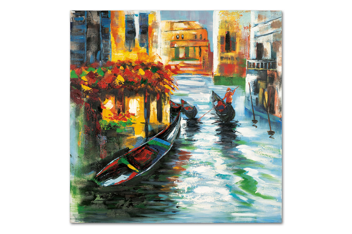 Autronic - Obraz - Benátky, ruční olejomalba na plátně - DOR043