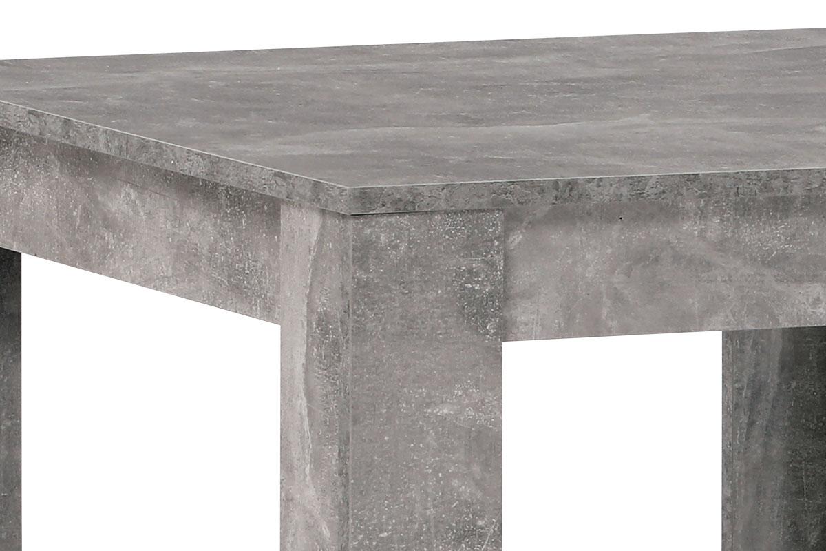 Jídelní stůl 80x80x74 cm, MDF, lamino dekor beton - DT-P080 BET