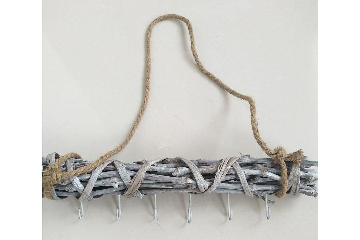 Autronic - Věšák proutěný ze sušených větví - DV6016