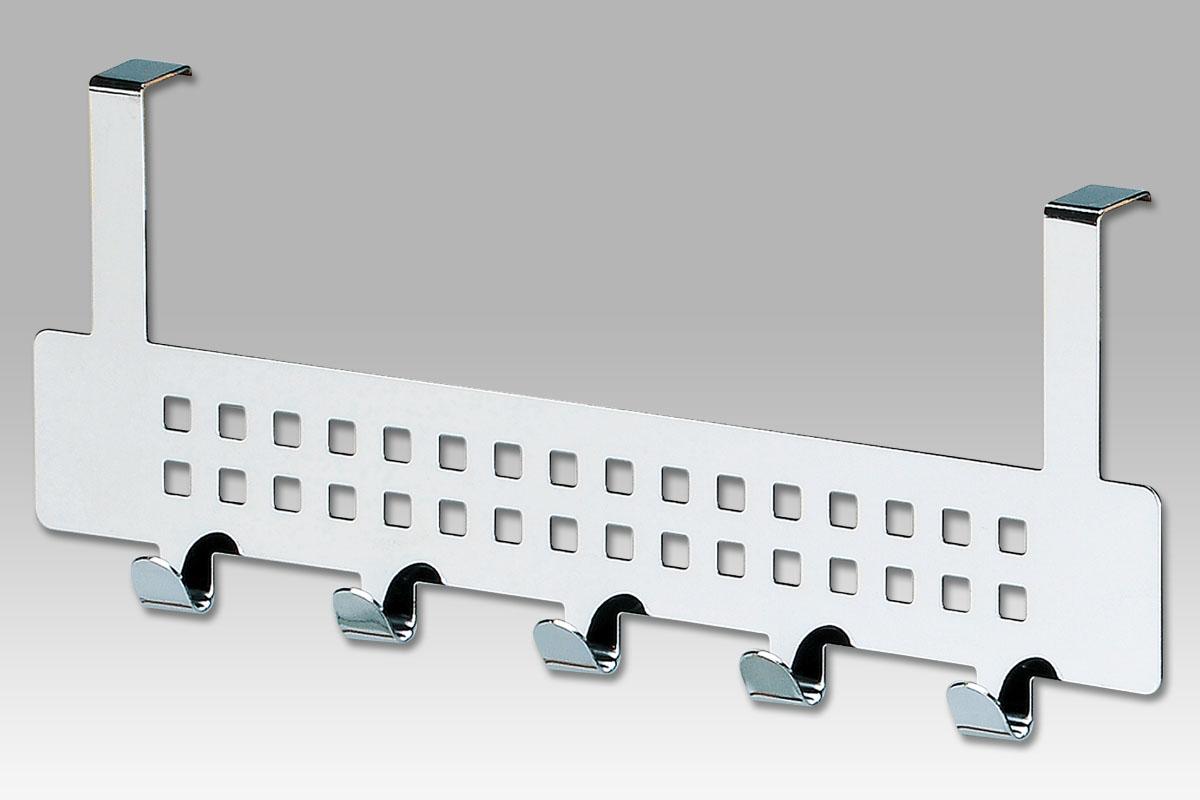 Autronic - Věšák na dveře, chrom - EP9355-3