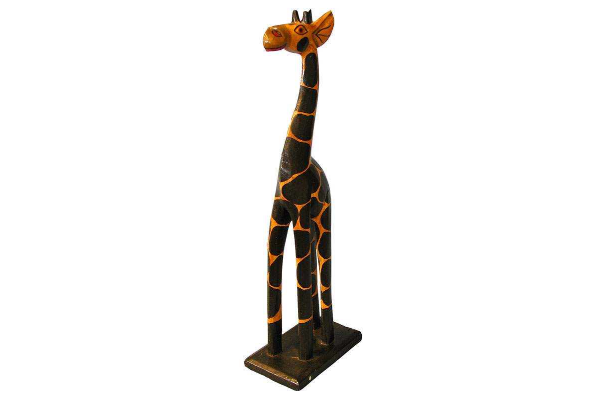 Autronic - Dřevořezba - žirafa - GB2-40