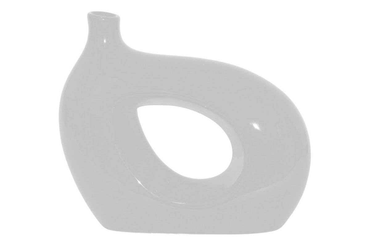 Autronic - Váza keramická bílá - HL667276