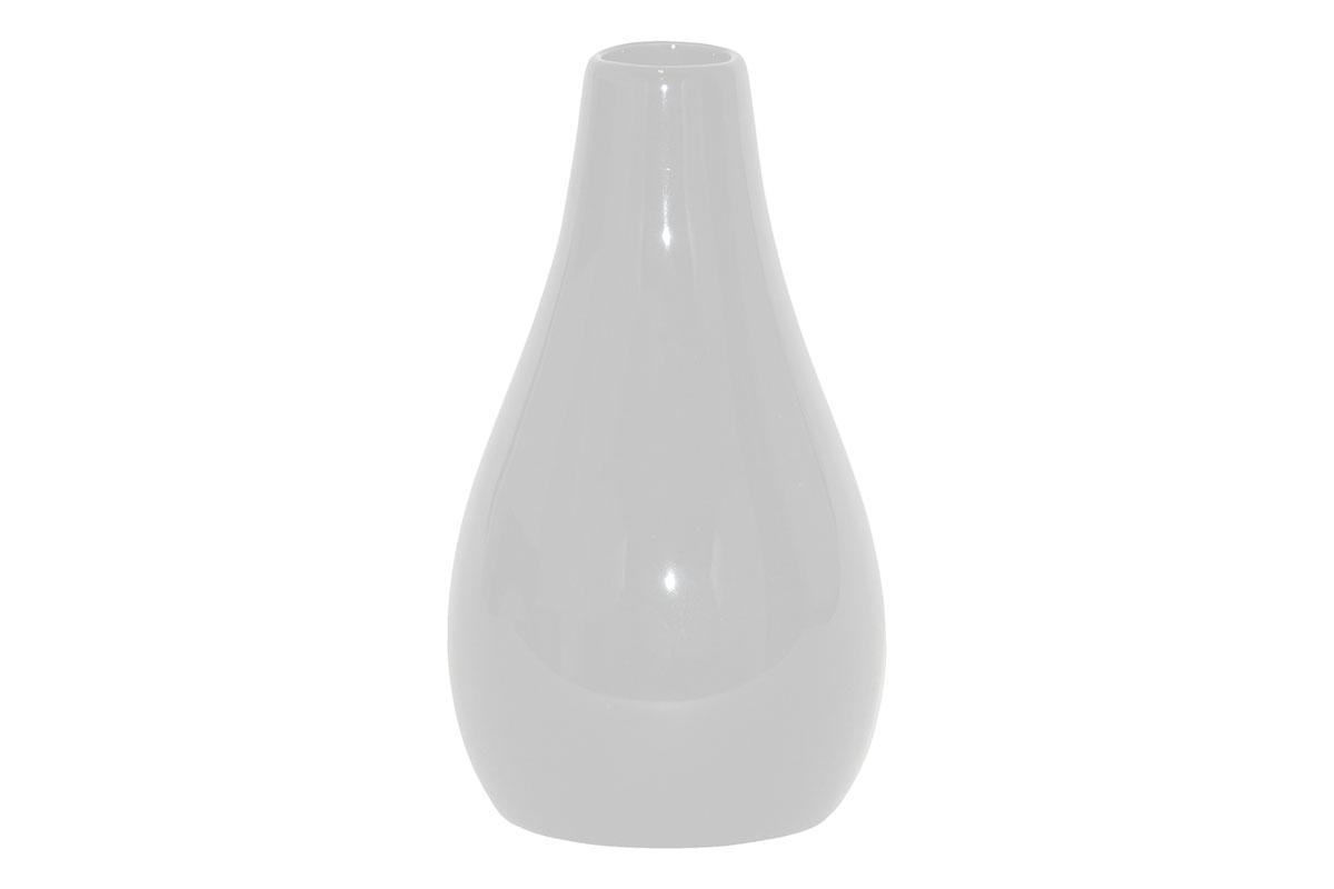 Autronic - Váza keramická bílá - HL667467