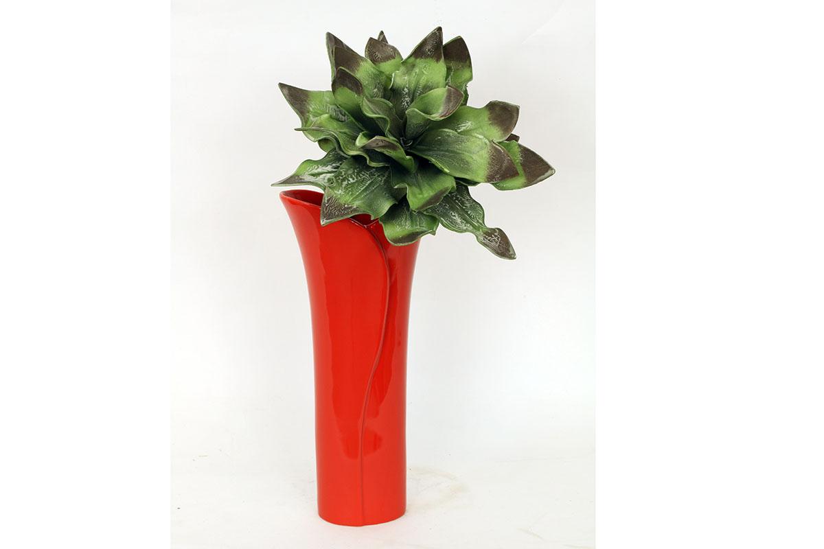 Autronic - Váza keramická červená - HL708375