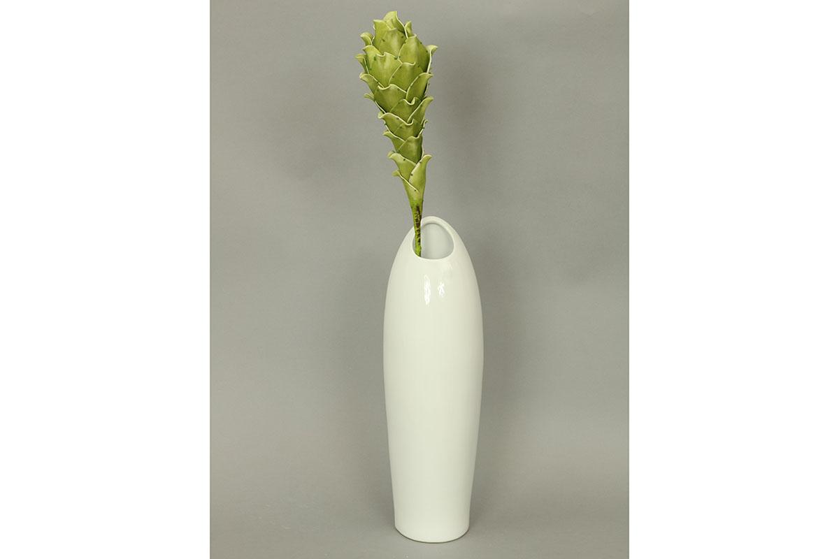 Autronic - Váza keramická bílá - HL708412