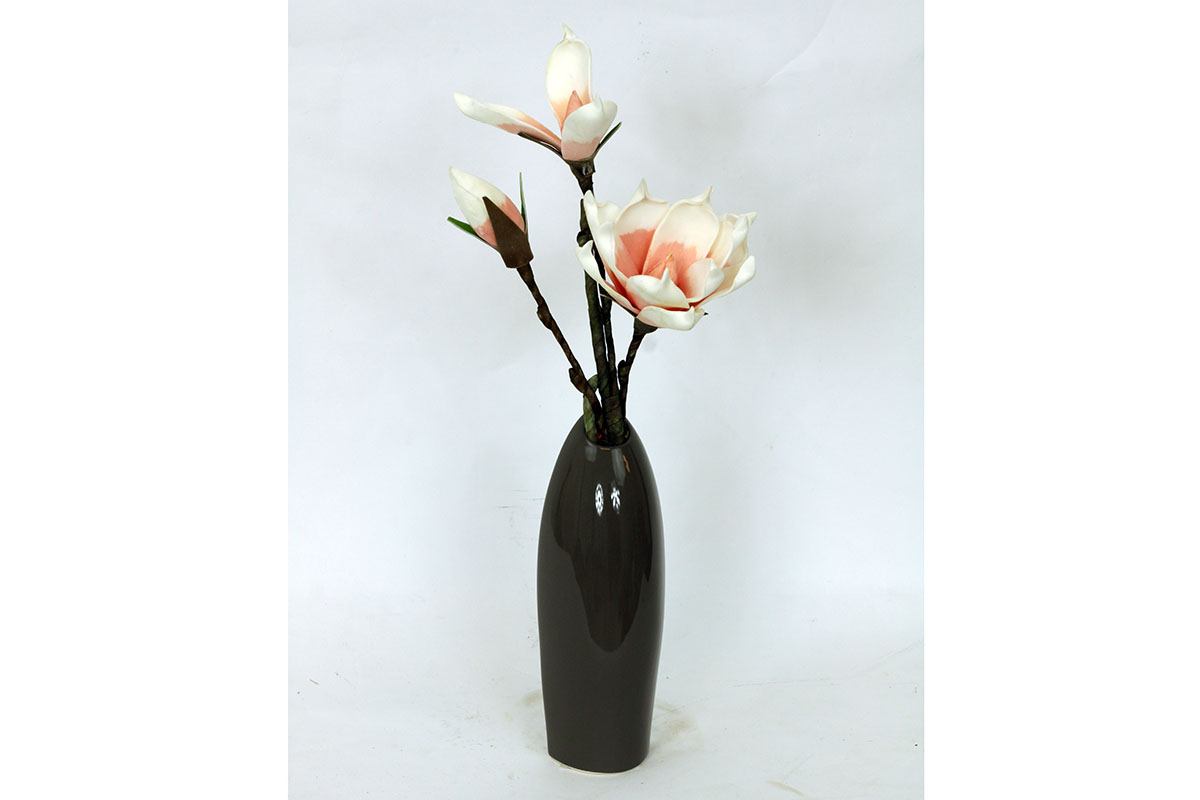 Autronic - Váza keramická hnědá - HL708429
