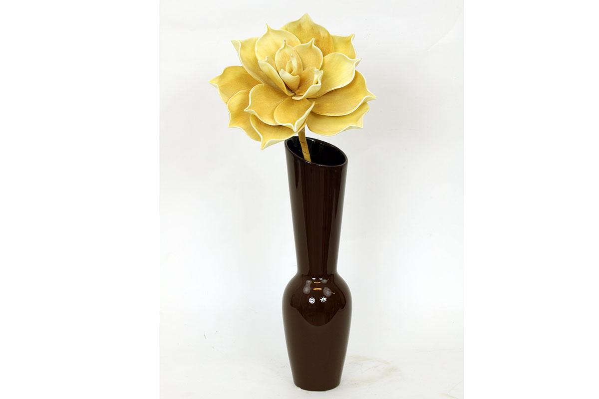 Autronic - Váza keramická hnědá - HL708467