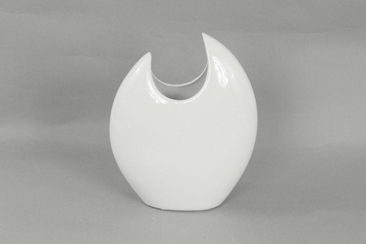 Autronic - Váza keramická bílá - HL817602