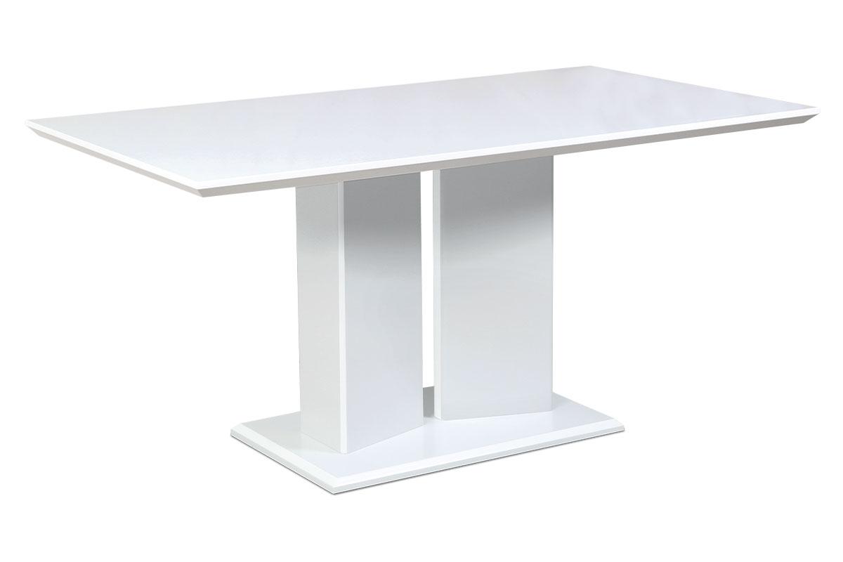 Autronic - Jídelní stůl 160x90 cm, bílý mat - HT-307 WT