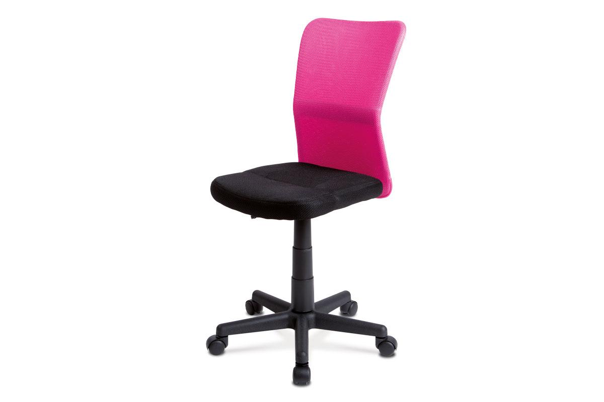 Autronic - Kancelářská židle - KA-BORIS PINK