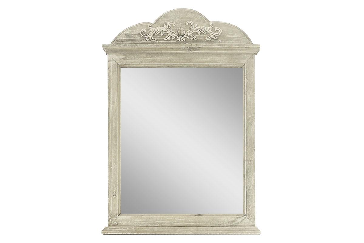 Autronic - Zrcadlo v dřevěném rámu, tvar okna - LD-0273