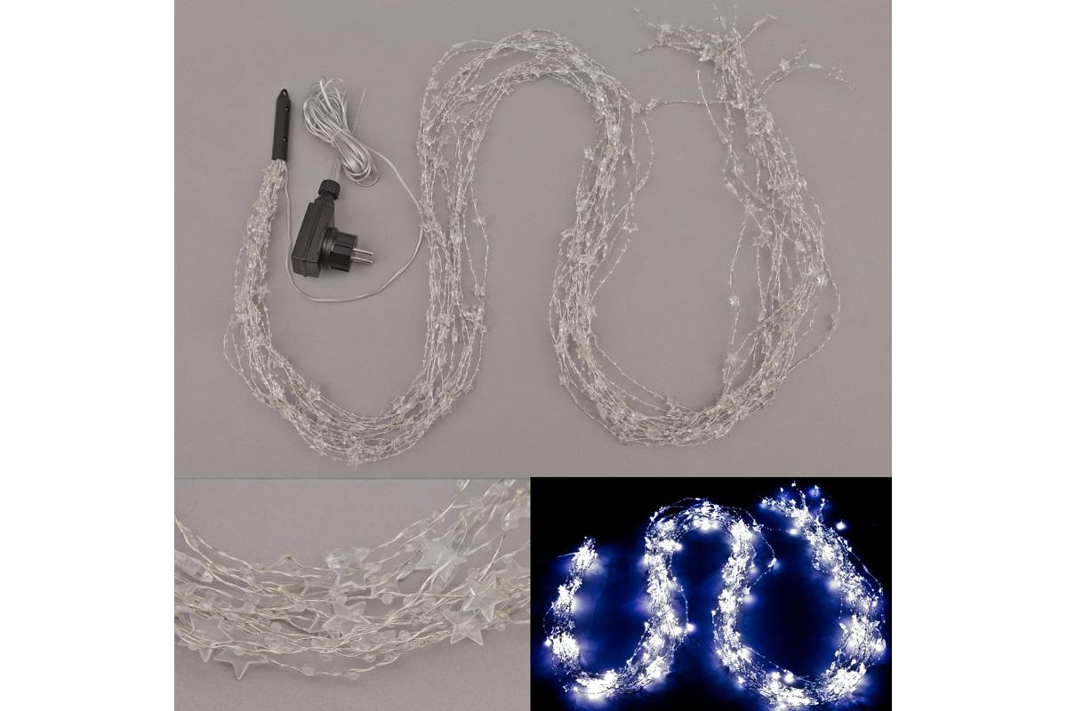 Autronic - Řetěz s LED světýlky, do zásuvky, venkovní IP44 barva studená bílá - LED877163