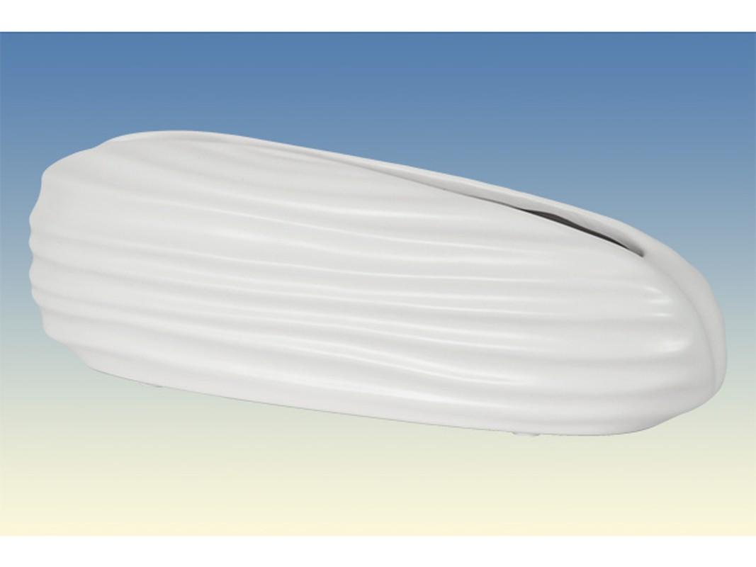 Autronic - Váza keramická - bílá matná - OBK665128