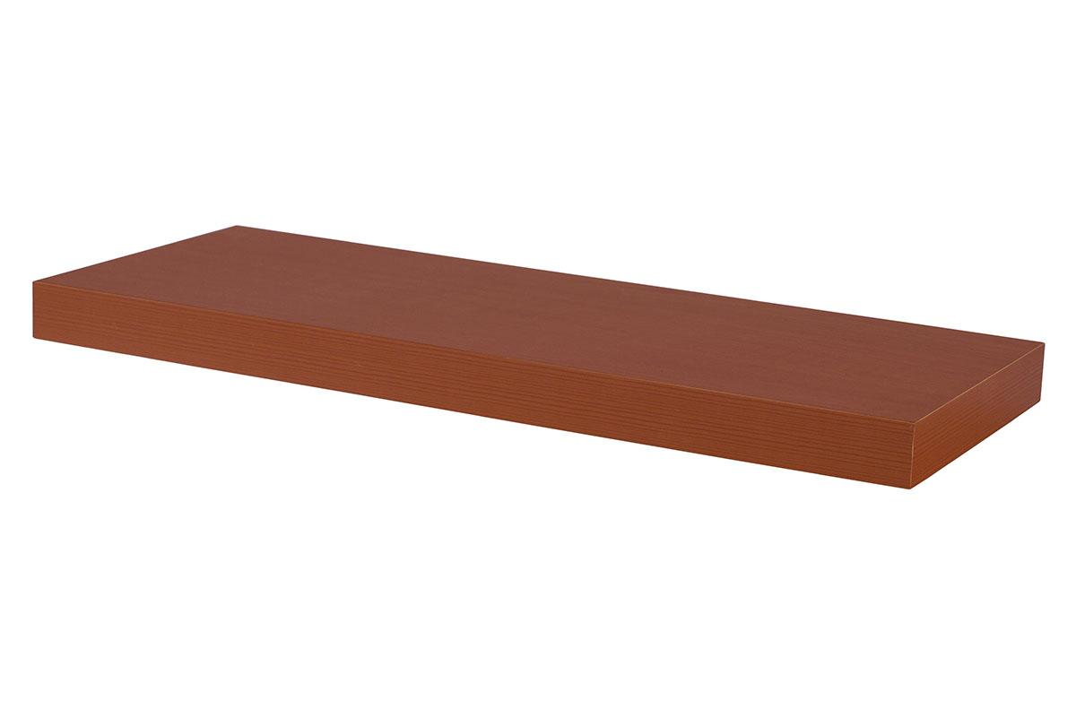 Autronic - Nástěnná polička 60 cm, barva třešeň. Baleno v ochranné fólii. - P-001 TR