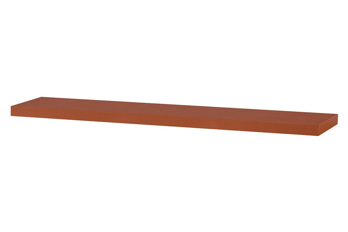 Autronic - Nástěnná polička 120cm, barva třešeň. Baleno v ochranné fólii. - P-002 TR