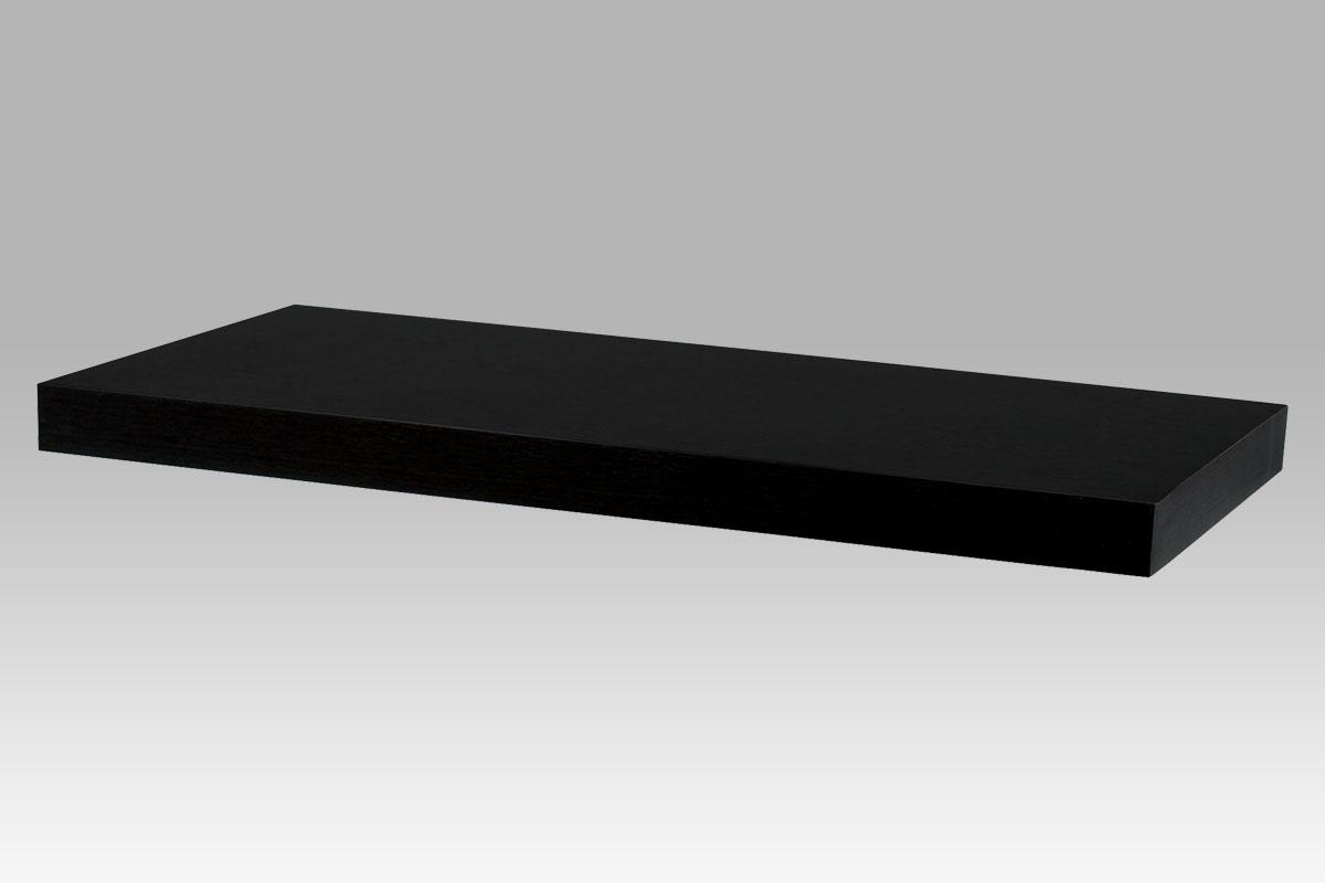 Autronic - Nástěnná polička 60 cm, barva ořech. Baleno v kartonu 1ks/ktn. - P-020 BK (WAL)