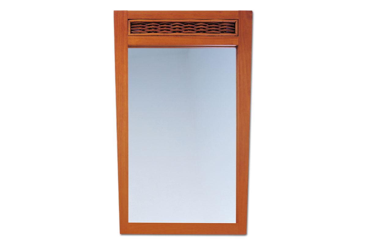 Autronic - ATHENA - zrcadlo kaučuk./ratan třešeň - PO203 TR