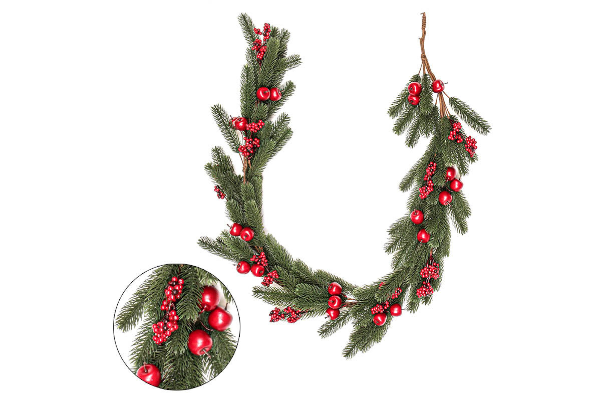 Autronic - Girlanda, vánoční umělá dekorace - PRZ3372